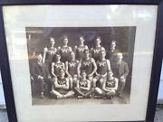 Worcester Ma. Rowing Photo C 1890's Hot Bed American Crew Oar Lake Quinsigamon