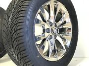 20 Ford F150 Chrome Wheels Tires Rims King Ranch Truck Pvd Factory Oem 6x135
