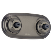 Delta Jetted Module Trim With H2okinetic Technology R1817 And T1837-pt, Pewter