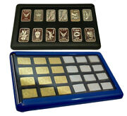 2 Element Cards And 2g Silver Valcambi Bullion Bars And Random 1g Fractional