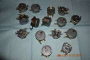 Synchron Or Telechron Electrical Movements Lot Of 15 For Project Nos