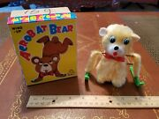 Vintage Tin Plastic Wind Up Acrobat Bear M Made In Japan In Box Tin Toy Lot