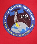 Lockheed Martin And Boeing Lads Sbirs T Shirt Space Based Infrared Systems Sz L