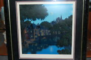 Jim Buckels Limited Edition Serigraph Le Deux Cheval With Coa