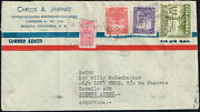 2586 Colombia To Argentina Air Mail Cover 1950 Correo Avianca Bogota - Bs. As.