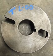 """Balance-able 7"""" L-00 Dog Drive Face Plate Chuck Backing Clausing Southbend Logan"""