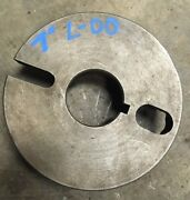 Balance-able 7andrdquo L-00 Dog Drive Face Plate Chuck Backing Clausing Southbend Logan