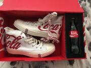 Kith X Coca-cola X Converse All Star And03970 Us Size Men 5.5 Women 7 Limited1000