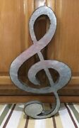 Metal Music Note Wall Decor Piano Band Drums Guitar Bedroom Music Art 1