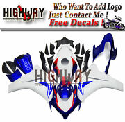 Motorrad Bodywork Fairing Kits Cowling Fit Honda Cbr1000 Rr 08 11 Blue White