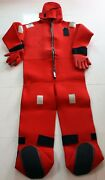 Stearns I590c Solas Immersion Suit U.s.c.g Approved Size Adult Oversize