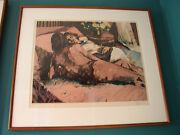 Aldo Luongo Evening S/n Limited Edition Lithograph Rare Ap31/35