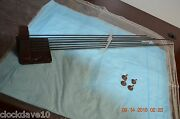 8 Chime Rod Straight From Rare Antique Grandfather Clock For Project