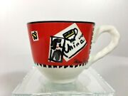 Villeroy And Boch Paloma Picasso A Day In The Life Set Of 5 Mini Cups And Saucers