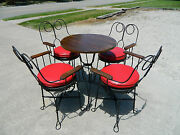 Ice Cream Parlor Setbistro Settable And 4 Chairs