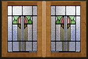 Heritage Stained Glass Inserts For Cabinet Doors New And Existing Kitchens