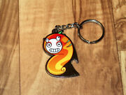 2013 Capcom Worm Like Creature Keychain Unknown Game - Let Me Know If You Know