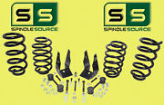 3/ 5 Drop Kit V6 Front Coils Rear Coils Fits 15-19 Gm And Gmc Suvand039s