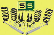 3/5 Dropkit V8 Front Coils Rear Coils Rear Shocks Fits 15-19 Gm And Gmc Suvand039s