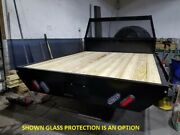 Flatbed Steel Body Pressure Treated Wood Deck Led Lighting Short Bed Drw