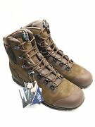 Original German Army Tactical Boots Haix Gore-tex Mountain Shoes Military Us 9
