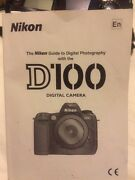 Nikon D100 6mp Digital Slr Professional Camera And Lens, Batteries And Mh-18 Charger