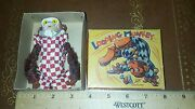 Vintage Tin Celluloid Suzuki Looping Monkey Made In Japan In Box Works Toy Lot