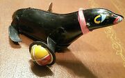 Vintage Tin Wind Up Toy Seal By K Made In Japan Tin Toy Lot