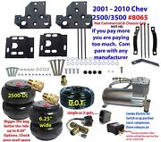 B 2001-10 Chevy 3500 Tow Assist Overload Air Bag Suspension Comp/switch Nothd