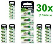 Us Bs010-6x Camelion A23 23a 12v L1028f Alkaline Battery 6x Blisters