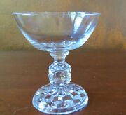 Fostoria American Lady Thin Clear Saucer Champagne Sherbets