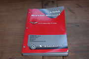 Corvette Engine And Transmission Book 3 Gmp97y3 1997 Chevy Shop Service Manual