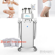 Cavitaion Rf 5 In 1 Freezing Cool Led Vacuum Body Contour Slimming Machine Spa