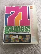 Extremely Rare Vintage 1969 71 Board Games By Whitman Western Publishing Co