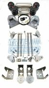 Complete 1971-1991 C20 C30 Pickup Air Ride Suspension Lowering System Kit Hd Tow