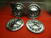 4 Used 57 Chevrolet Chevy Bel Air Nomad 14 Wheelcovers