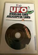 The Ufo Whirling Card Helicopter Card Magic Trick - Houdiniand039s Las Vegas