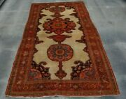 F2565 Antique Handmade Caucasian Wool Rug Size 5and0391 X 9and0393 Feet