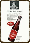 1947 Red Rock Cola / Soda Vintage Look Decorative Metal Sign - It's Red Rock For