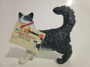 16604 Schleich Cat Maine Coon Cat With Booklet Ref21p133