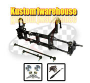 4 Inch Narrowed Vw Link King Pin Front End Beam W/drop Disc Brakes Wide 5 On 205