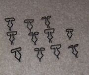 12 Ford Lincoln Mercury Square Panel Clips 1970s And Later Interior Hardware