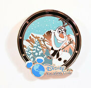 Disney Pin 110955 Dcl - Dvc 2015 Olaf Member Cruise Rare Gift Pin Vacation Club