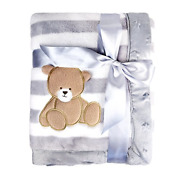 Luxury Thick Baby Flannel Blanket 75 X 100cm Plush Extra Soft And Warm Fleece