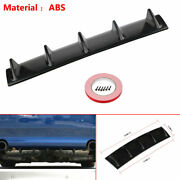 Rear Bumper Abs Shark Fin 5 Wing Lip Diffuser 23 X6 Protector Chassis