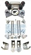 Complete 1973-1987 C10 Pickup Air Ride Suspension Lowering System Kit Hd 4link
