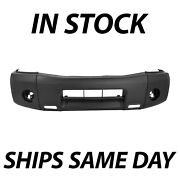 New Primered - Front Bumper Cover Replacement For 2004-2014 Nissan Titan Truck