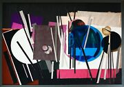 Constance K Livingston 1 Of 1 Entering Space Ii Hand Signed Original Collage