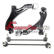 Front Lower Control Arm Ball Joint Sway Bar Kit For 05-09 Chevy Equinox Torrent