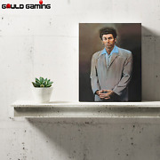Cosmo Kramer Seinfeld Canvas Painting Wall Art Prints Decor Gifts The Kramer New